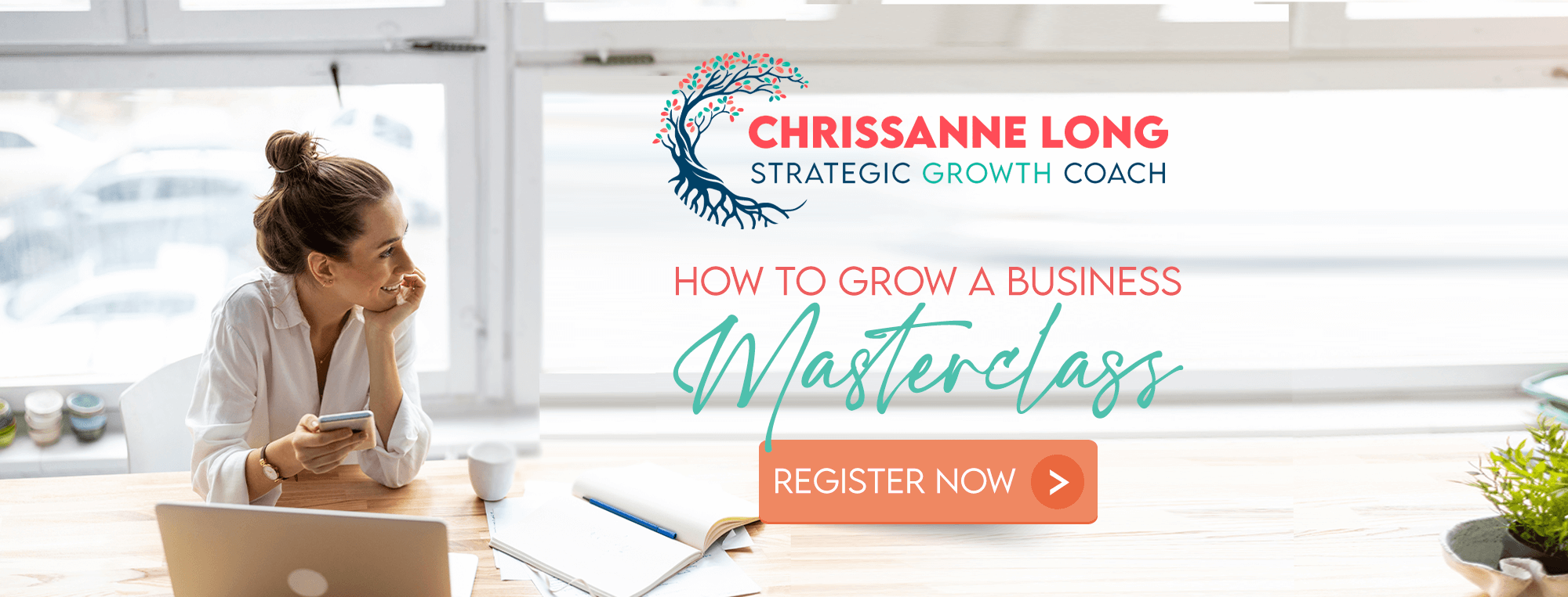 How to grow your business master class - register